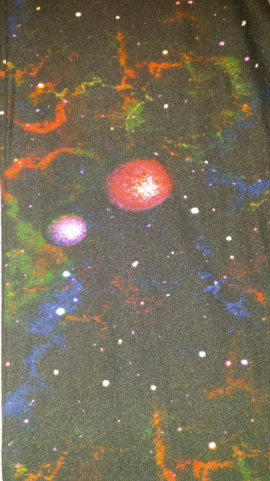 Space Leggings Print Closeup
