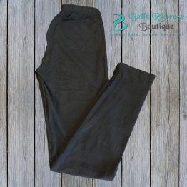 black leggings on wood