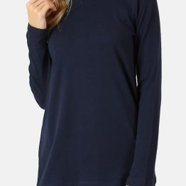Womens Crew Neck Long Sleeve T Shirt