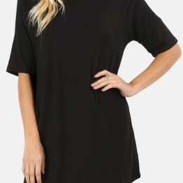Half Sleeve Shirt in Black