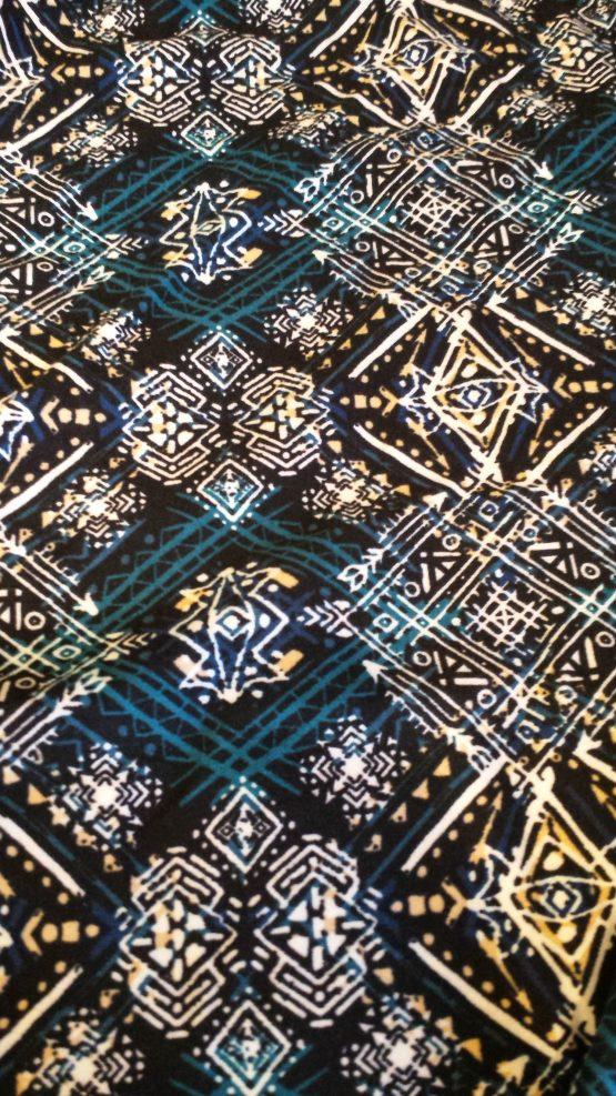 Ethnic Print Leggings Closeup