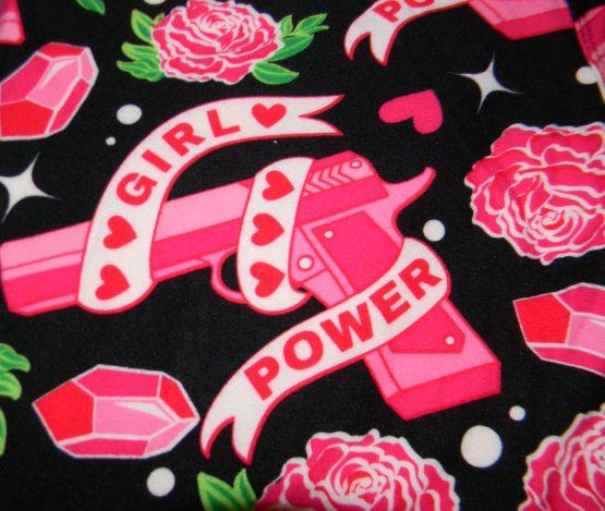 Girl Power Print Closeup