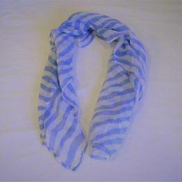 blue zebra scarf-square