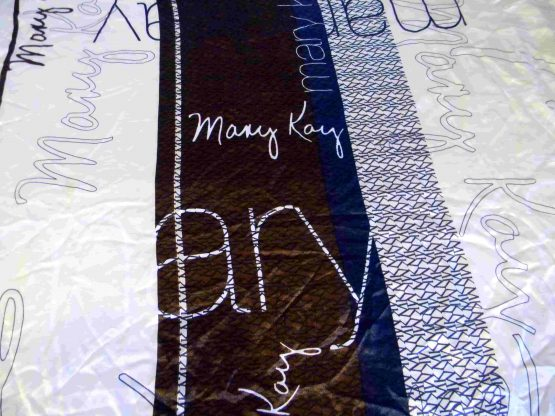 Mary Kay Logo Scarf Closeup