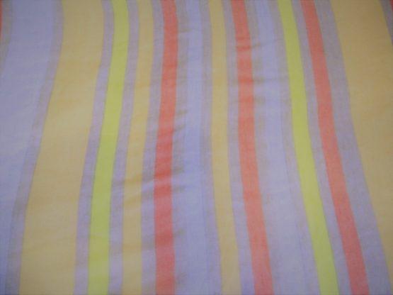 Striped Summer Scarf Closeup