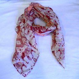 indian elephant scarf