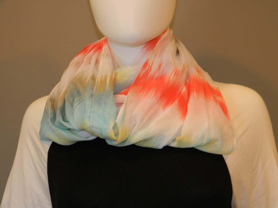 lightweight infinity scarf fit