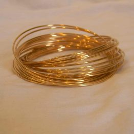 Different Bangles Linked Gold Bangles