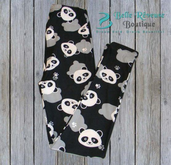 Panda Face Leggings