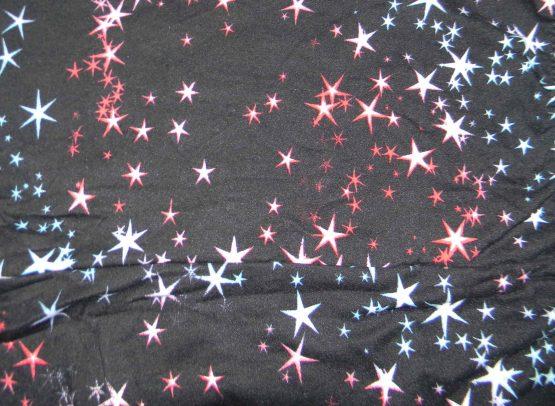 star shower leggings print close up