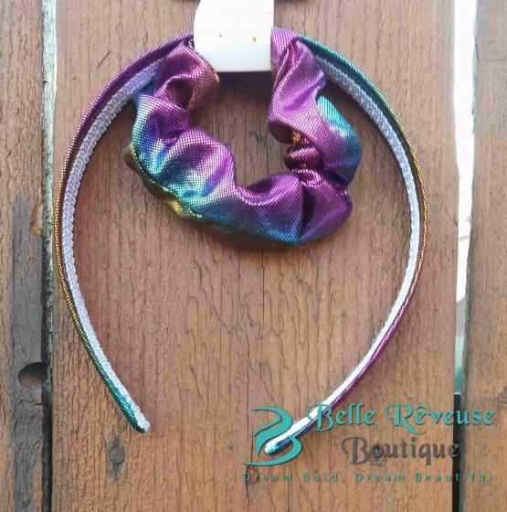 Headband and Ponytail Holder Mermaid