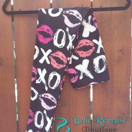 Lip Print Leggings