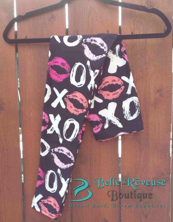 Lip Print Leggings