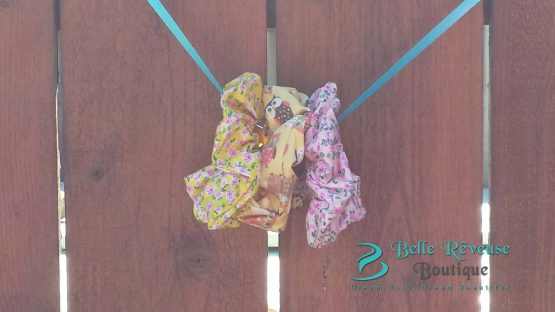 Scrunchies for Thick Hair - Print Scrunchies