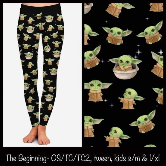 Baby Yoda Leggings