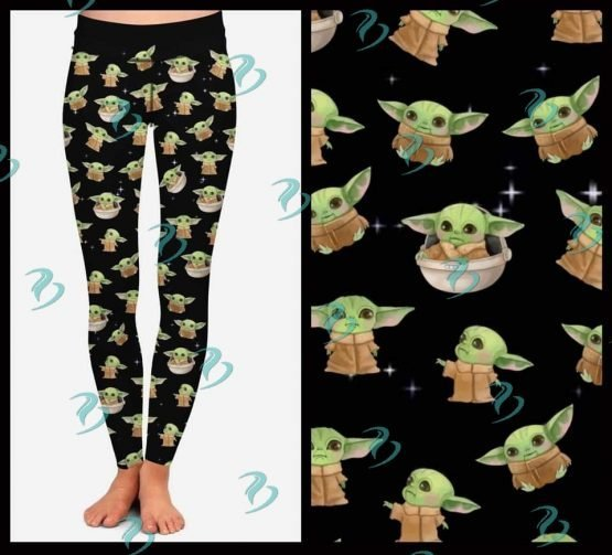 Baby Yoda Leggings