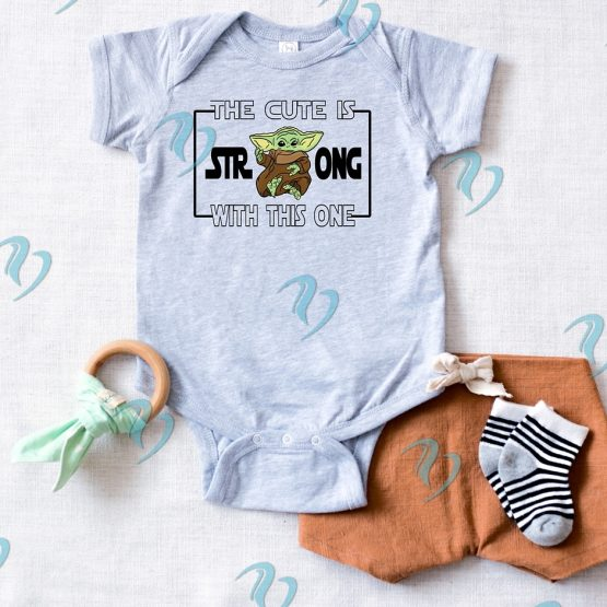 Baby Yoda Onesie
