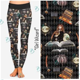 Hermione Harry Potter Inspired Leggings