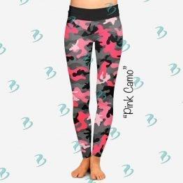 Pink Camo Leggings