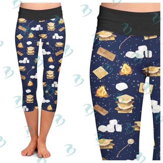 S'mores Print Leggings