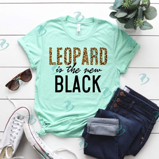 Leopard is the New Black Graphic Shirt