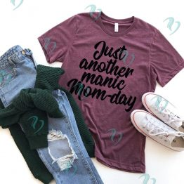 Manic Momday Graphic Shirt