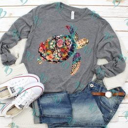 Watercolor Sea Turtle Shirt