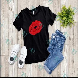 Red Lips Graphic Shirt