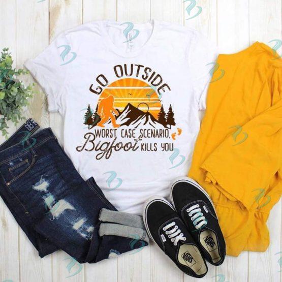 Bigfoot Graphic Shirt White
