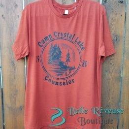 Camp Crystal Lake Counselor Graphic Shirt
