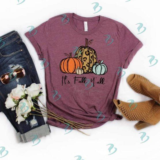 Its Fall Yall Graphic Shirt