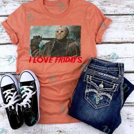 Jason Vorhees Graphic Shirt