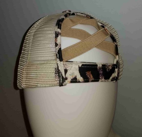 Ponytail Hat - Back View