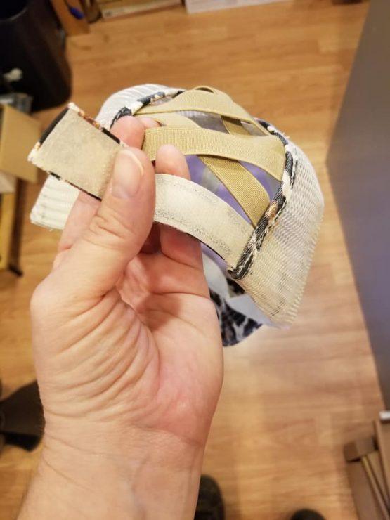Ponytail Hat Velcro Closure