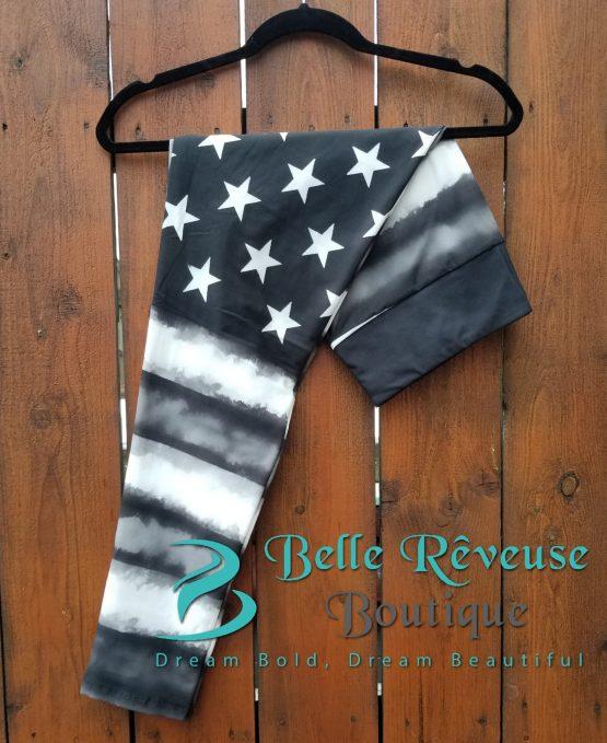 Vintage American Flag Leggings