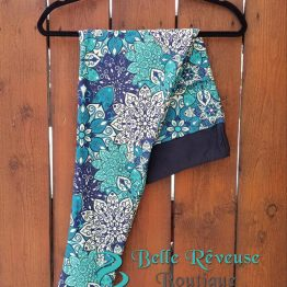 Turquoise Medallion Print Leggings