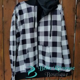White Plaid Jacket