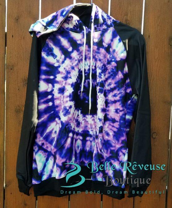 Purple Tie Dye Hoodie