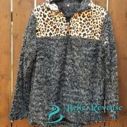 Sherpa - Leopard Print
